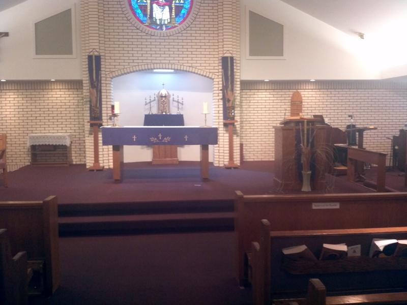 Lenten Altar 2012